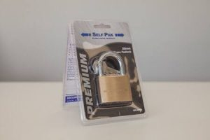 Brass 50mm Padlock with Key