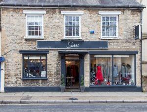 Sassi Shop Front Witney