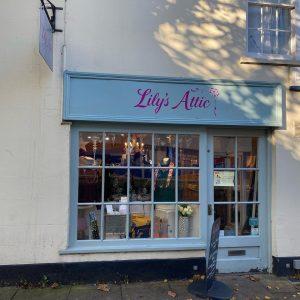 Lily's Attic shop front
